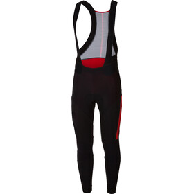 Castelli Sorpasso 2 Bib Tights Heren, black/red